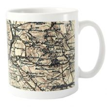 1896 - 1904 Revised New Map Mug